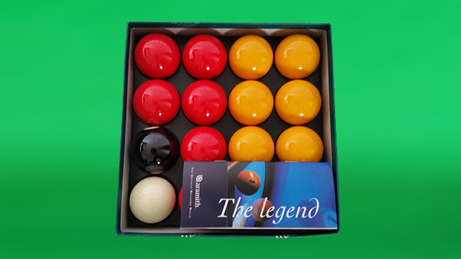 Aramith Pool Ball Set for sale