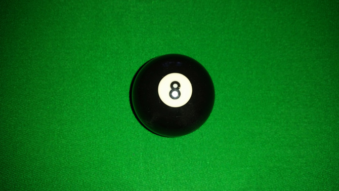 Pool black ball (eight ball) for sale