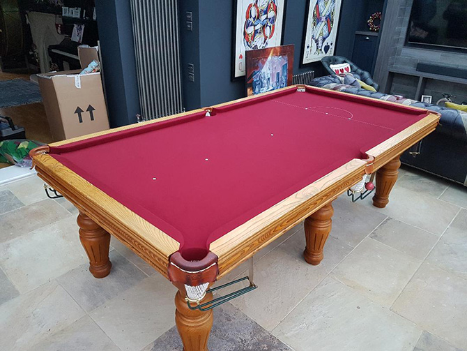Snooker Table Cloth and Repairs Bristol