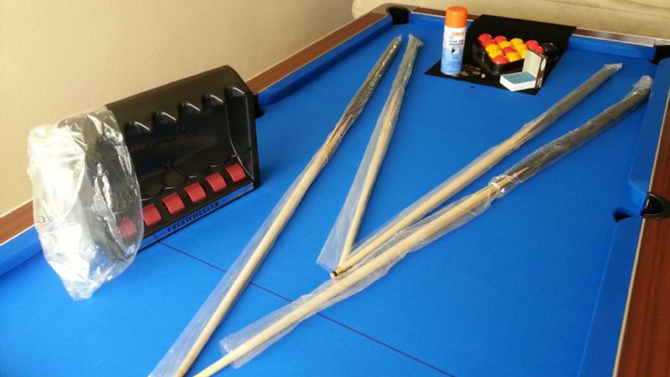Cardiff Pool Table Recover