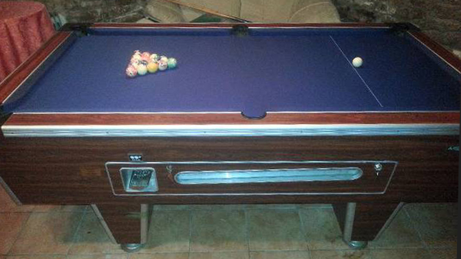 Pool table recovering Gloucester