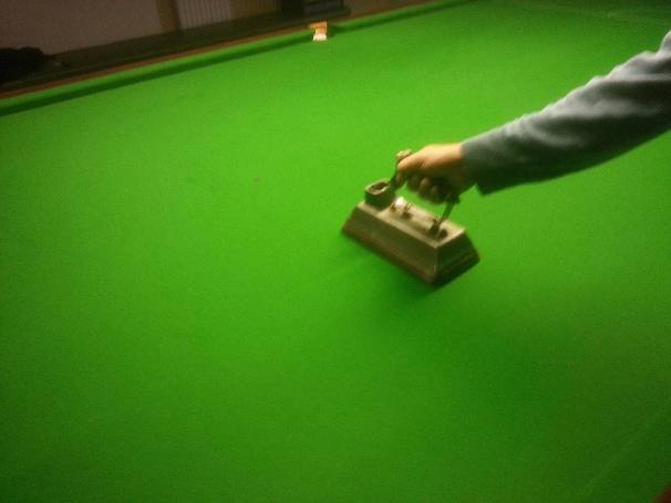 Snooker table iron Cheltenham