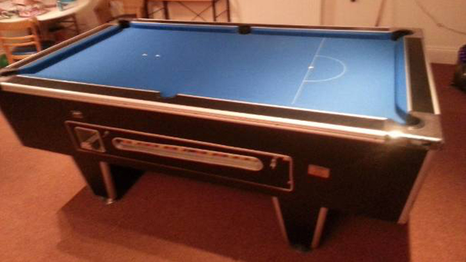 Newport Pool Table Recover