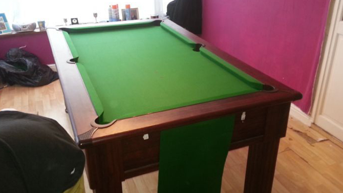 Newport Gwent Pool Table Recover