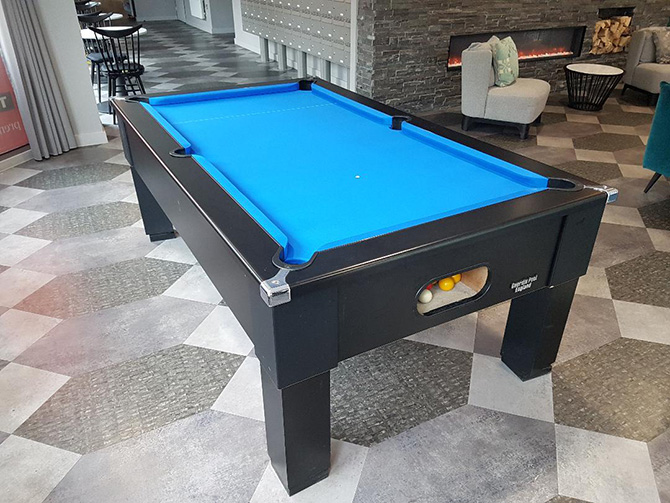 Pool Table Fitting