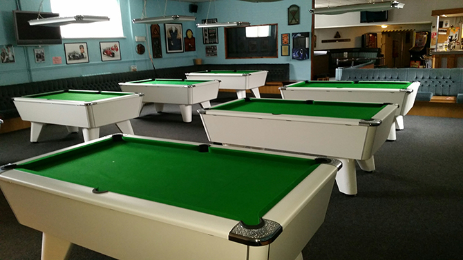 Supreme winner pool table south wales