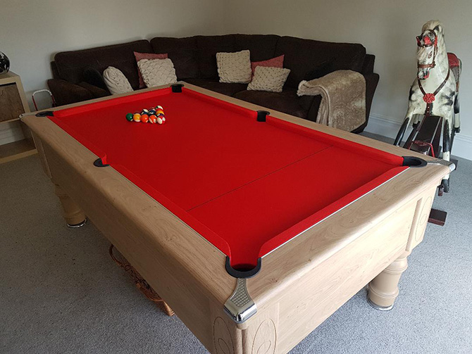 Best pool table recovering service Somerset South West